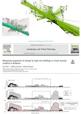 Recent Publication in Landscape and Urban Planning
